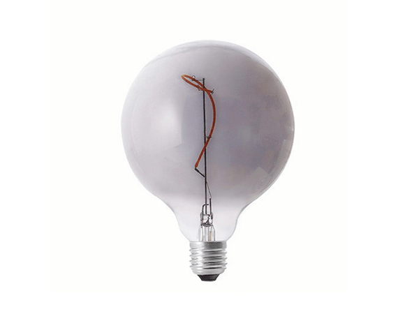 Decorative Light Bulb G125 Grace Smoky - LUXRAY LIGHTING