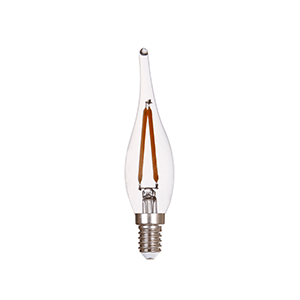 E10 LED C22 Dimmable Candle - LUXRAY LIGHTING