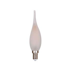 E10 LED C22 Dimmable Candle Matt - LUXRAY LIGHTING