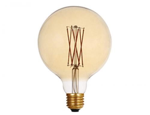 Edison Bulb LED G125 Amber
