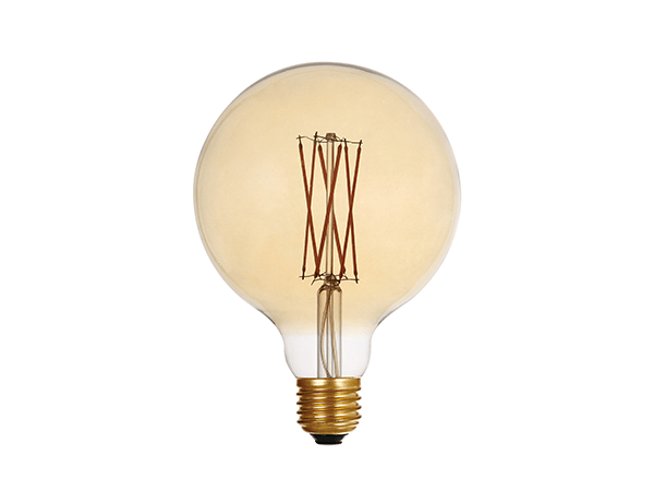 Edison Bulb LED G125 Amber - LUXRAY LIGHTING
