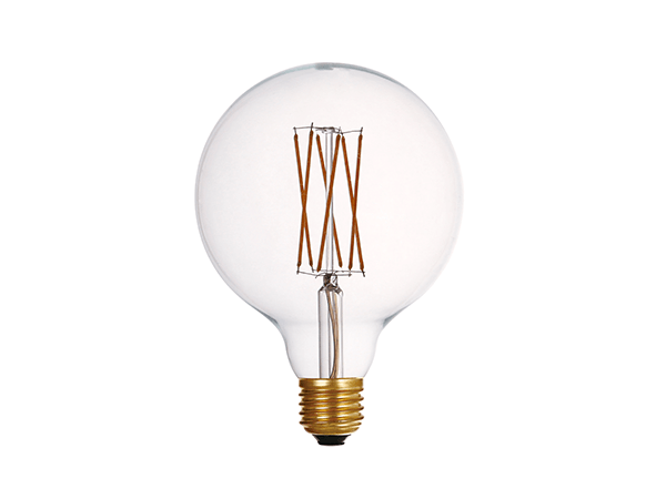 Edison Bulb LED G125 Clear - LUXRAY LIGHTING