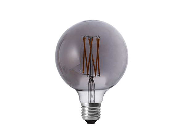 Edison Bulb LED G125 Smoky - LUXRAY LIGHTING