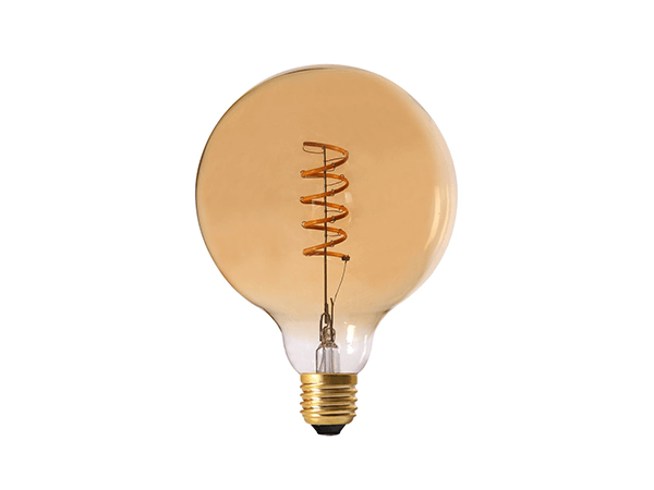 Edison LED Lighting G125 Amber - LUXRAY LIGHTING