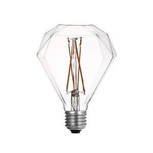 LED G95 Diamond Clear - LUXRAY LIGHTING
