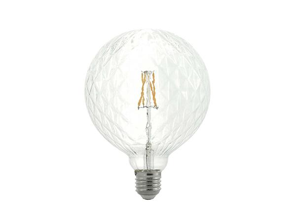 LED G95 Lattice Clear - LUXRAY LIGHTING