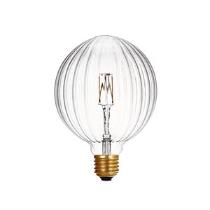 LED G95 Pumpkin Clear - LUXRAY LIGHTING