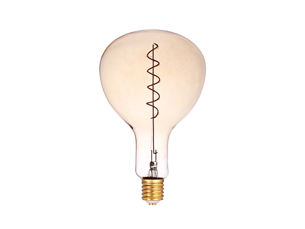 LED Spiral Filament PAR180 E27 Dimmable Amber - LUXRAY LIGHTING 600450