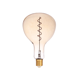 LED Spiral Filament PAR180 E27 Dimmable Amber