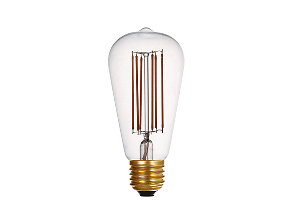 LED Vintage Bulb Lights ST64 Clear - LUXRAY LIGHTING