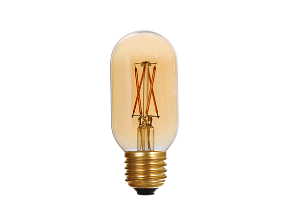 LED Vintage Edison Bulb T45 Amber - LUXRAY LIGHTING